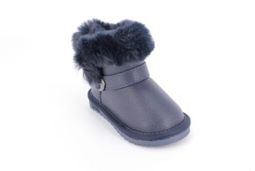 Cizme Copii Tip UGG Blue Fur
