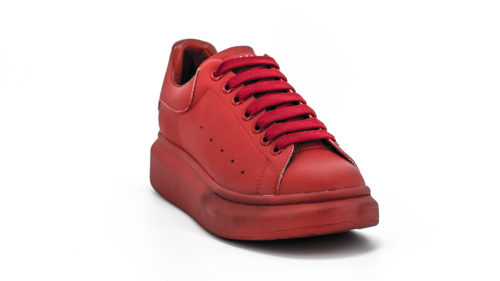 Sneakers piele funky red