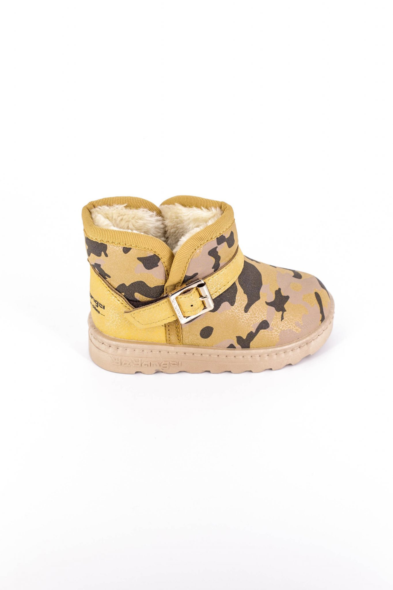 Cizme Copii Tip UGG Army Yellow