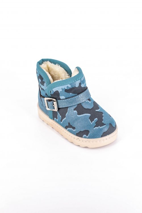 Cizme Copii Tip UGG Army Blue