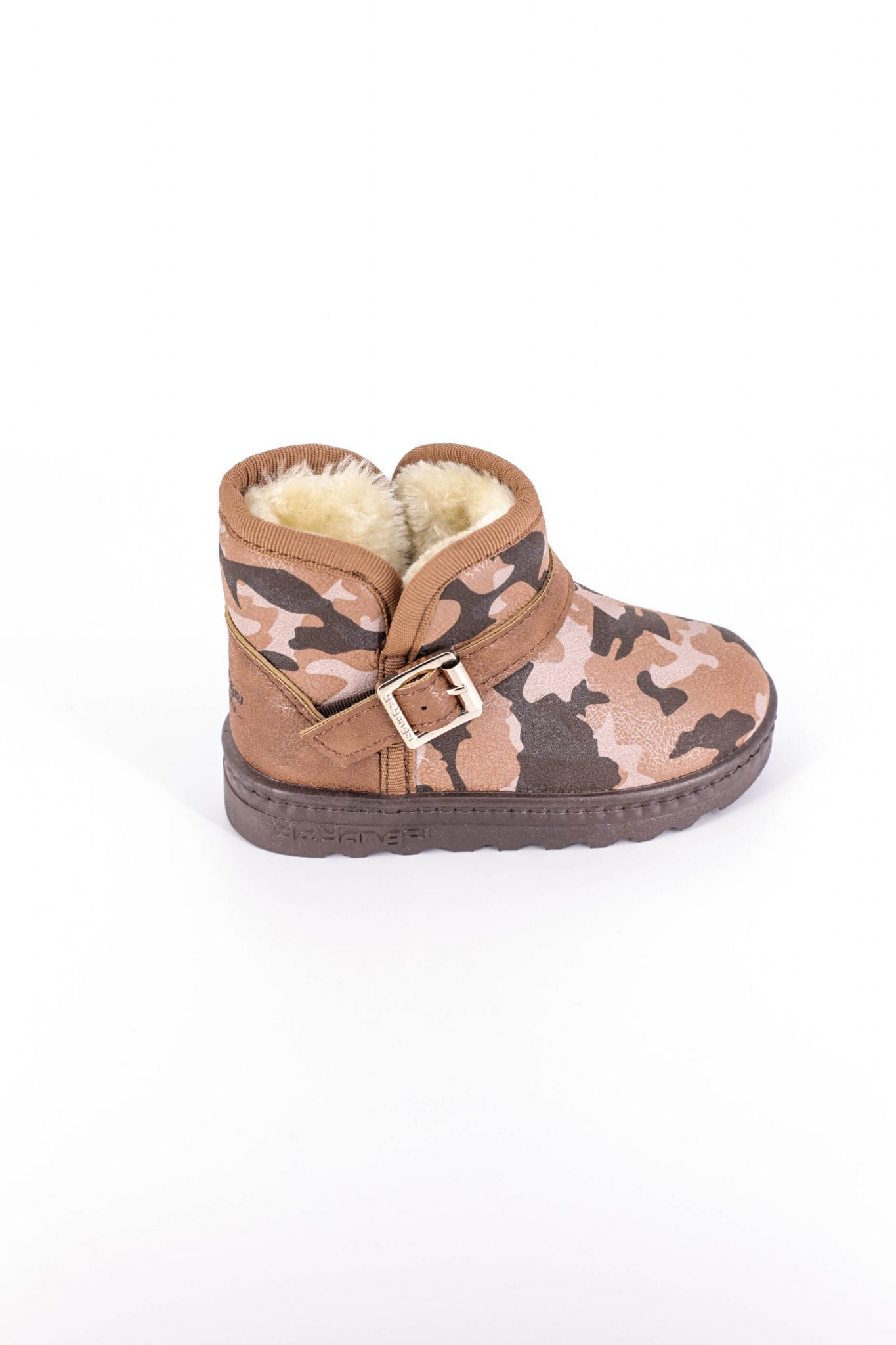 Cizme Copii Tip UGG Army Brown