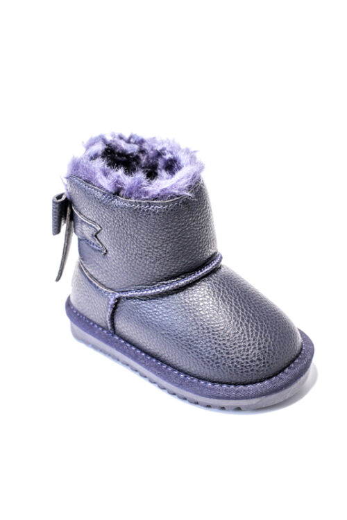 Cizme Copii Tip UGG Dark Blue Fundita