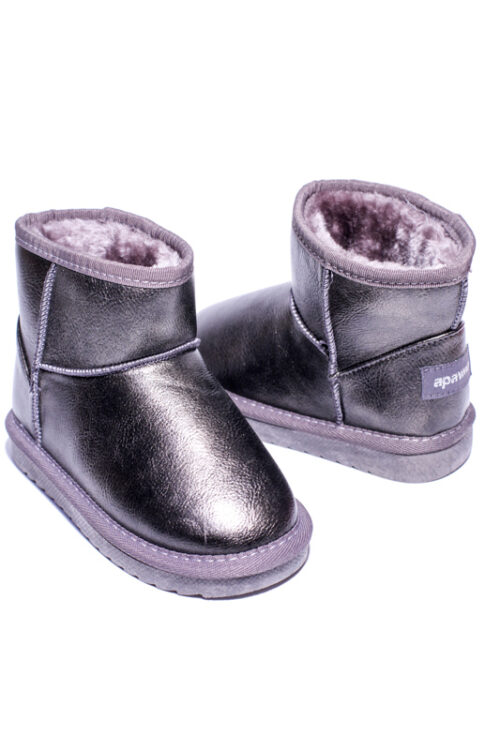 Cizme Copii Tip UGG Grey 2