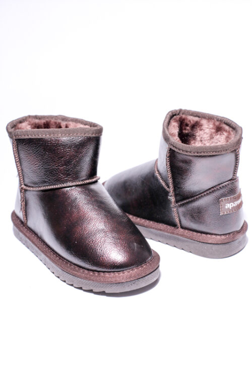 Cizme Copii Tip UGG Chocolate 2